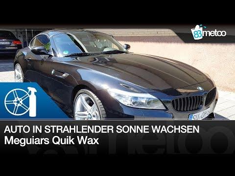 Meguiars Ultimate Quik Wax | Sprühwachs Lackpflege in der Sonne| Hilfreiche Tipps zur Fahrzeugpflege