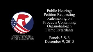 Original Broadcast Date: December 09, 2015 Interested persons present oral comments to CPSC Commissioners concerning the...