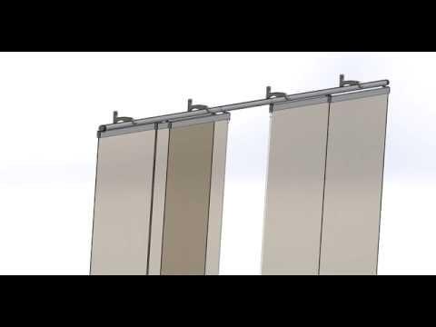 Comment poser rail panneau japonais la r ponse est sur - Comment poser des rideaux japonais ...