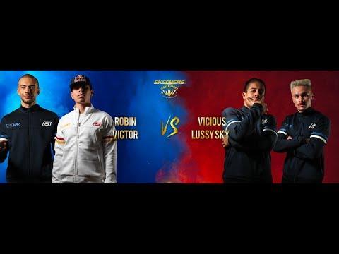 Robin & Victor vs Vicious & Lussy Sky | Semi-Finals | World War | BIS 2018