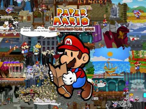 Paper Mario: The Thousand Year Door OST 137: A Last View At Rogueport