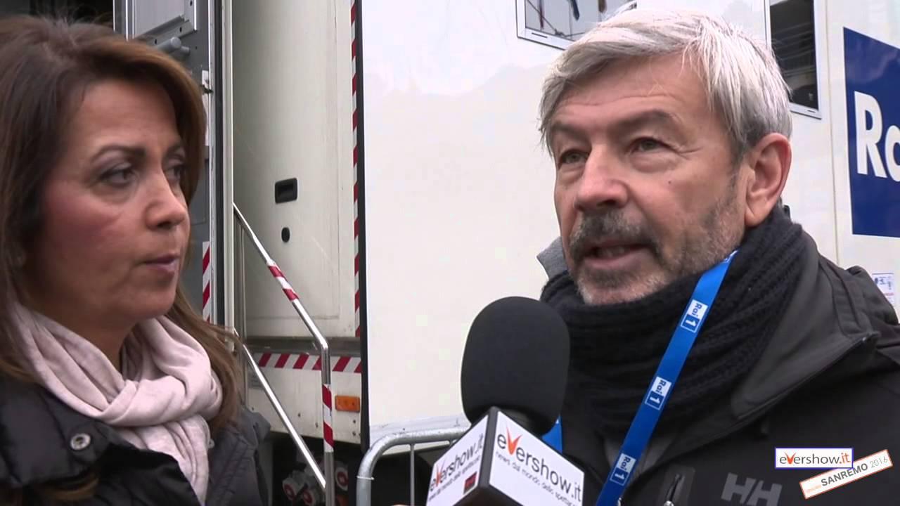 Sanremo 2016, dietro le quinte: la regia Maurizio Pagnussat