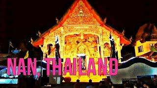 Nan Thailand  City pictures : Saturday Evening Market Nan Thailand August 2014