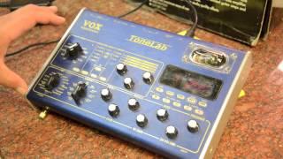 Vox Valvetronics Tonelab Gear review - My Favorite Guitar Stuff