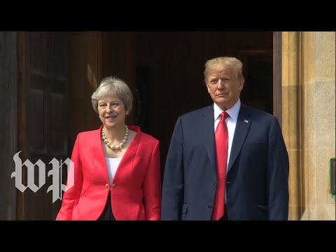 Trump and May hold joint news conference