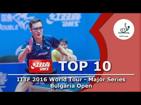 DHS ITTF Top 10 - 2016 Bulgaria Open