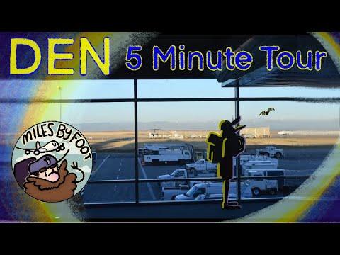 Denver International Airport - A Five-Minute Tour