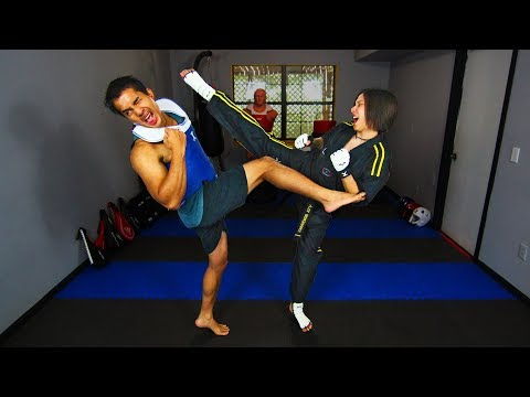 How to COUNTER a ROUNDHOUSE KICK in Sparring