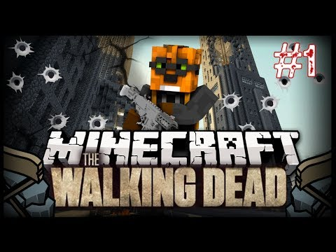 """THE START"" The Walking Dead #1 (Crafting Dead Minecraft Server)"