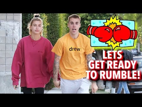 Justin Bieber And Hailey Baldwin Get Ready To Rumble At Boxing Class - EXCLUSIVE