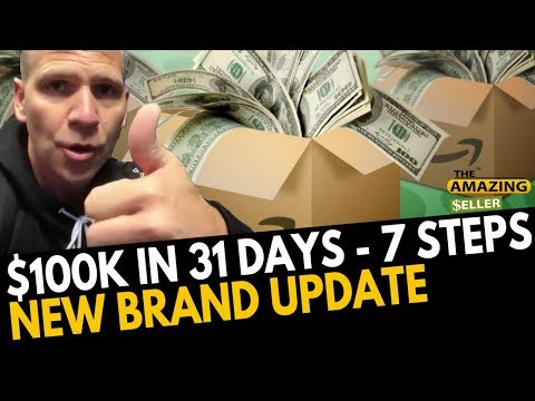 (7 Steps) How We Generated $100k in 31 Days in NEW Brand TAS 468: The Amazing Seller