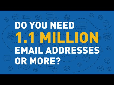 how to harvest email addresses from websites