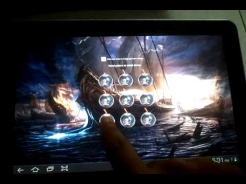 Video of Screen Lock