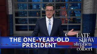 Video The Trump Presidency After One Year (Too Many) MP3, 3GP, MP4, WEBM, AVI, FLV Januari 2018