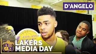 Lakers Media Day 2016: D'Angelo Russell Changes His Mentality by Lakers Nation