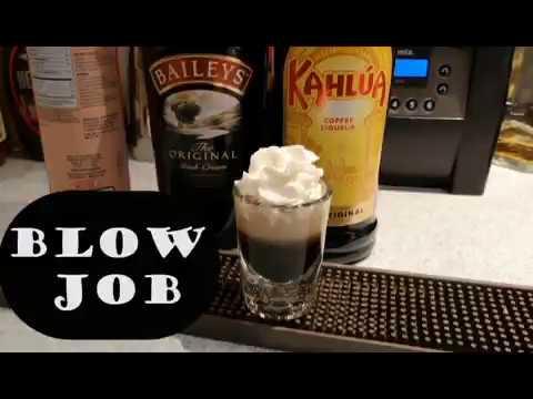 Como fazer o shot BLOW JOB