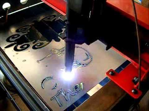Cutting Metal at Metal Art Xpressions