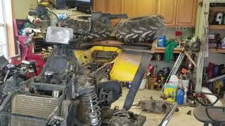 8. 2001 Polaris Sportsman 500 trans replace part 1