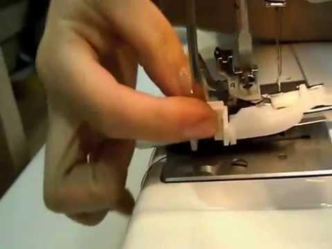 видео как сделать швейную машинку