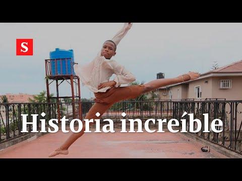 La historia de Anthony Mmmesoma, el bailarín bajo la lluvia