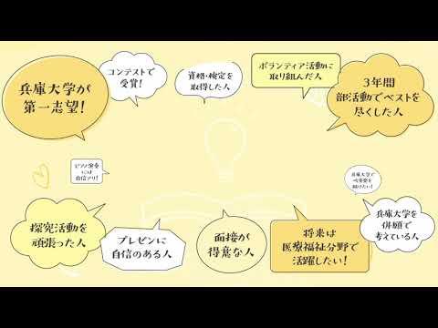 入試紹介動画年明け入試版