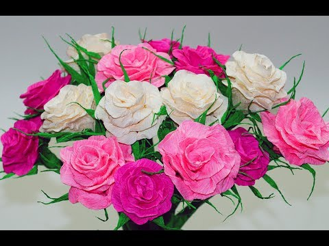 Download paper rose flower making easy how to make crepe paper download paper rose flower making easy how to make crepe paper rose diy room decor ideas julia diy mightylinksfo