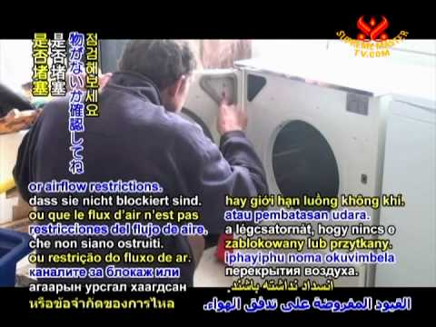 Tip of The Day – Repairing clothes dryer – 23 Dec 2011