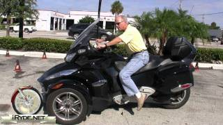 11. 2010 Can-Am Spyder RT Riding Position - RT-S