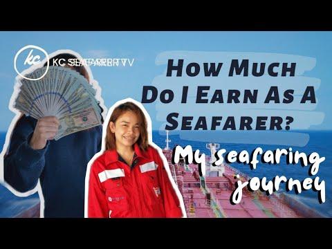HOW MUCH I EARN AS A SEAFARER • DECK CADET TO THIRD OFFICER JOURNEY   KC Seafarer TV #LifeAtSea