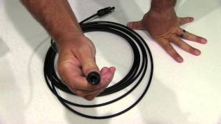 Renogy 20ft. Solar Cable PV cable extension with MC4 Female and Male connectors Unboxing