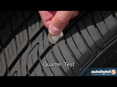 Checking Tire Tread Depth and Wear
