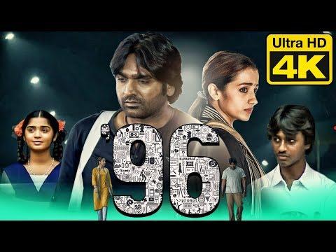 96 (4K Ultra HD) Hindi Dubbed Movie | Vijay Sethupathi, Trisha Krishnan