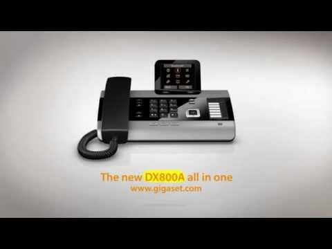 Siemens Gigaset DX800A All-In-One IP Phone