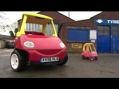 Roadworthy Toy Car Can Reach 70mph