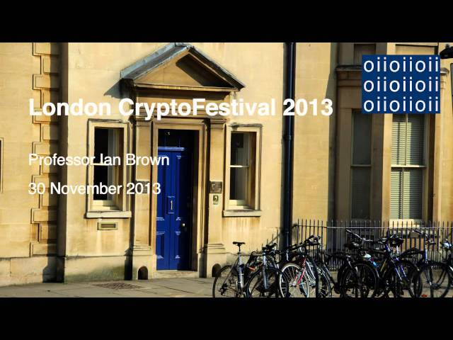 London CryptoFestival 2013