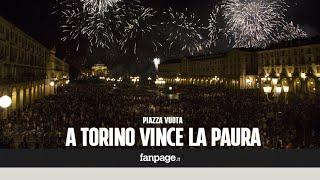 Torino, vince la paura: fa flop la festa di San Giovanni, deserto per i fuochi Video