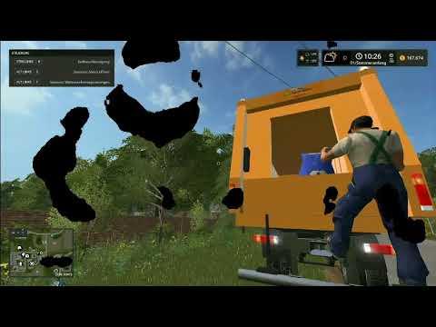 Garbage truck Mercedes Actros v1.1.2.0