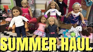 Check out this NEW American Girl Summer Haul.♥ Subscribe to my YouTube: http://goo.gl/bLXVcy♥ Chloe Doll Merchandise http://tinyurl.com/ChloeMerch🎵 Musical.ly: ChloesAmericanGirl♥ Instagram: http://instagram.com/ChloesAmericanGirl♥ Website: http://www.ChloesAmericanGirl.com♥ Address: Chloe's American GirlPO Box 251307Los Angeles, CA 90025Music by Epidemic Sound (http://www.epidemicsound.com)We Got It Covered - Sebastian ForslundAfterglow - Joachim NilssonBetween The Lines (Ahlstrom Remix) - Elias Naslin