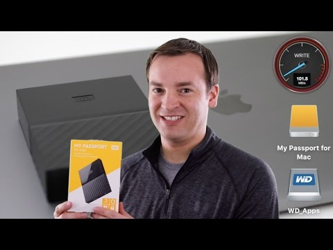WD My Passport for Mac Review 2TB - USB 3 External Hard Drive