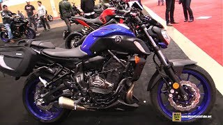 7. 2018 Yamaha MT 07 Accessorized - Walkaround  2018 Toronto Motorcycle Show