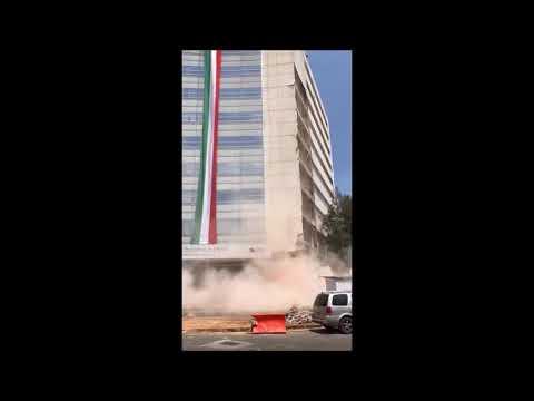 Derrumbes de edificios terremoto Mexico 19/09/2017 (видео)