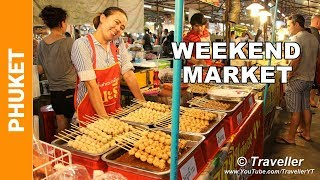 Video Phuket Weekend Market - Just the food! - Phuket holiday attractions - Thai Street food at its best MP3, 3GP, MP4, WEBM, AVI, FLV April 2019