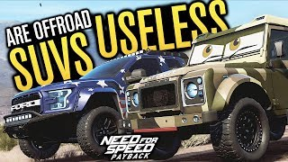 SUVS ARE USELESS!!! | Need for Speed Payback Freeroam