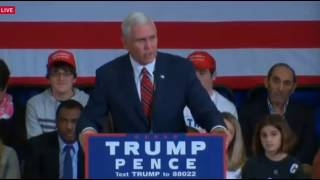 Strongsville (OH) United States  city images : Mike Pence on Donald Trump's