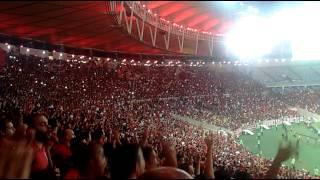 Festa rubro negra após gol de Alan Patrick Flamengo 2x0 Cruzeiro