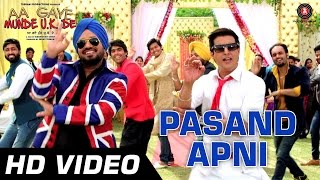 Pasand Apni Official Video  Aa Gaye Munde UK De  Jimmy Sheirgill Neeru Bajwa  Punjabi Folk  HD