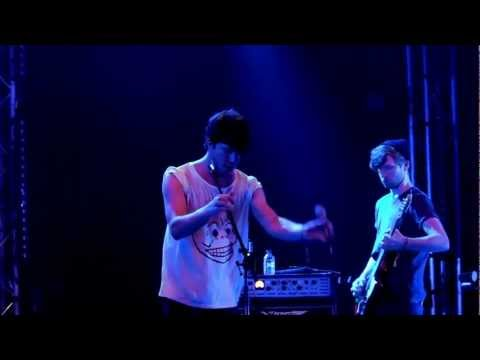 And last but certainly not least: Breton performing Electrician @Pukkelpop. Great song! #pkp12 [video]