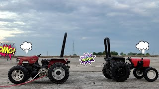 Toy tractor tochan || rc tractor tochan || rc toy tractor stuck in mud