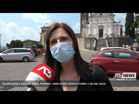 TALENTUOSA E SOLARE, PAPA' MORENO: «NON HA PIU' SENSO VIVERE» | 28/06/2020