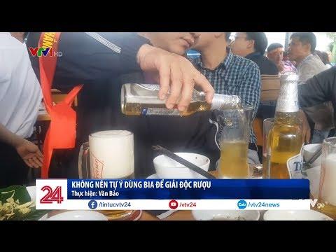 Không tự ý lạm dụng bia để giải độc rượu @ vcloz.com